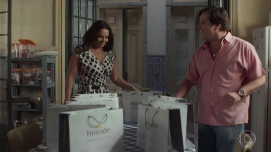 Edith e Nelson comemoram primeiras vendas como consultores da Hinode