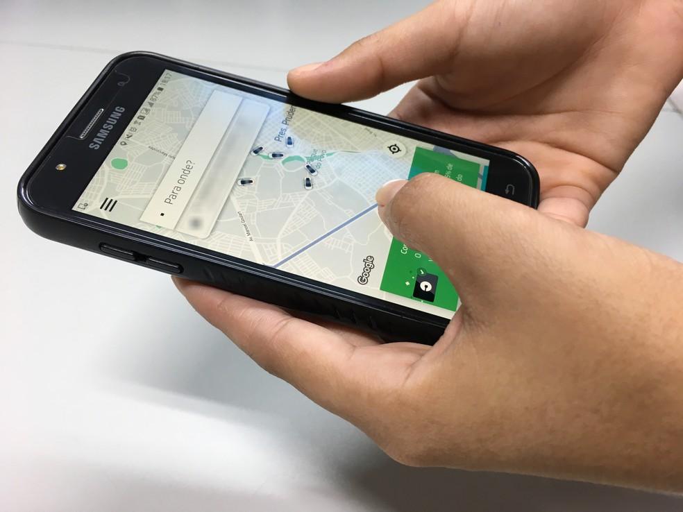 Projeto de lei no RJ pode mudar regras de transporte por aplicativo — Foto: Wellington Roberto/G1