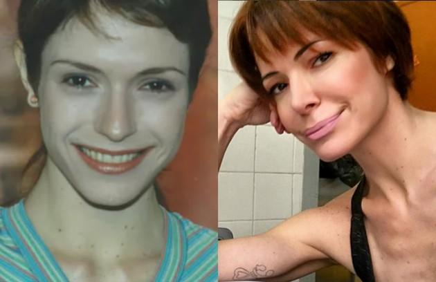 Em 'Por amor', reprise do Vale A Pena Ver De Novo, Babi Xavier interpretou Aninha. Sua última novela foi 'Os Dez Mandamentos' (2015). Atualmente, ela é  estudante de psicologia (Foto: TV Globo / Reprodução)