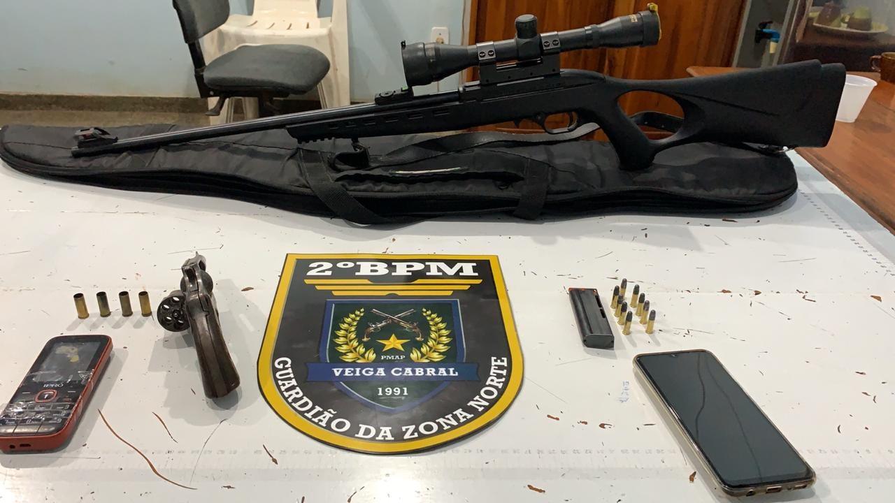 Preso do semiaberto que portava rifle e revólver morre em tiroteio com a PM em Macapá