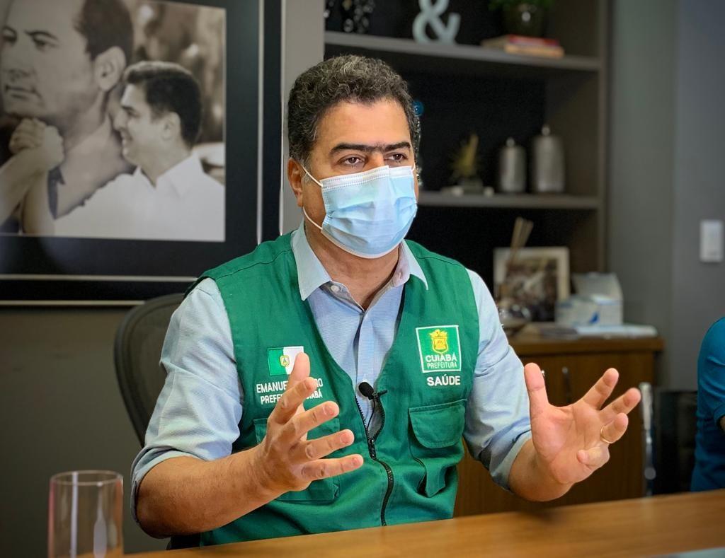 Prefeito de Cuiabá suspende aumento na tarifa de água e esgoto e proíbe corte no abastecimento