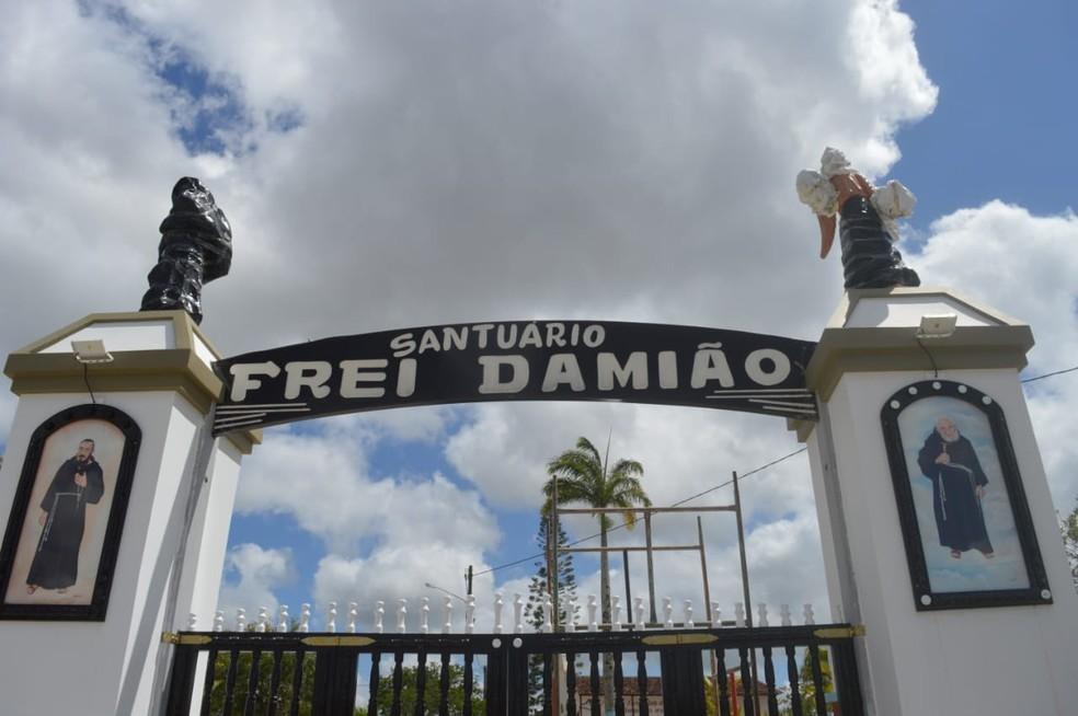 Santuário será reinaugurado em São Joaquim do Monte — Foto: Antônio Oliveira / Pascom Paróquia de São Joaquim
