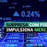 Surpresa com PIB impulsiona mercados