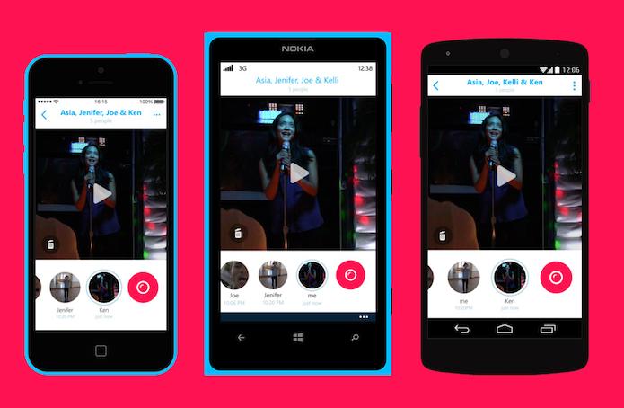 Skype lança app de mensagens de vídeos com validade; conheça o Skype Qik (Foto: Divulgação/Skype Qik)