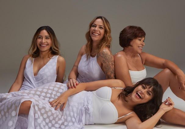 Mulheres reais para Undertop (Foto: Thiago Bruno)