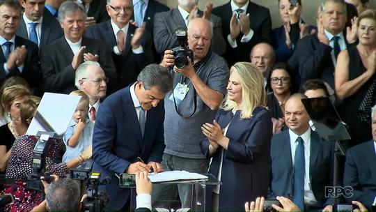 Cida Borghetti assume o governo do Paraná