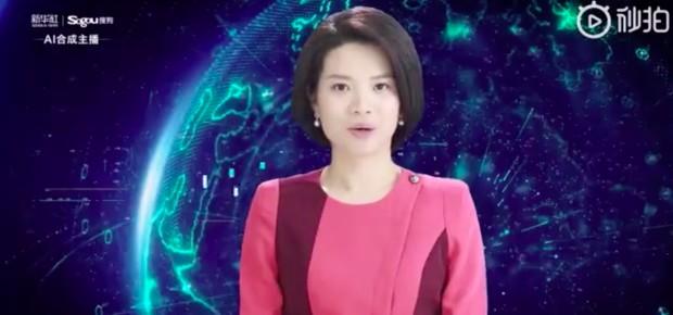 Xin Xiaomeng, âncora da agência chinesa Xinhua feita a partir de IA (Foto: Reprodução)