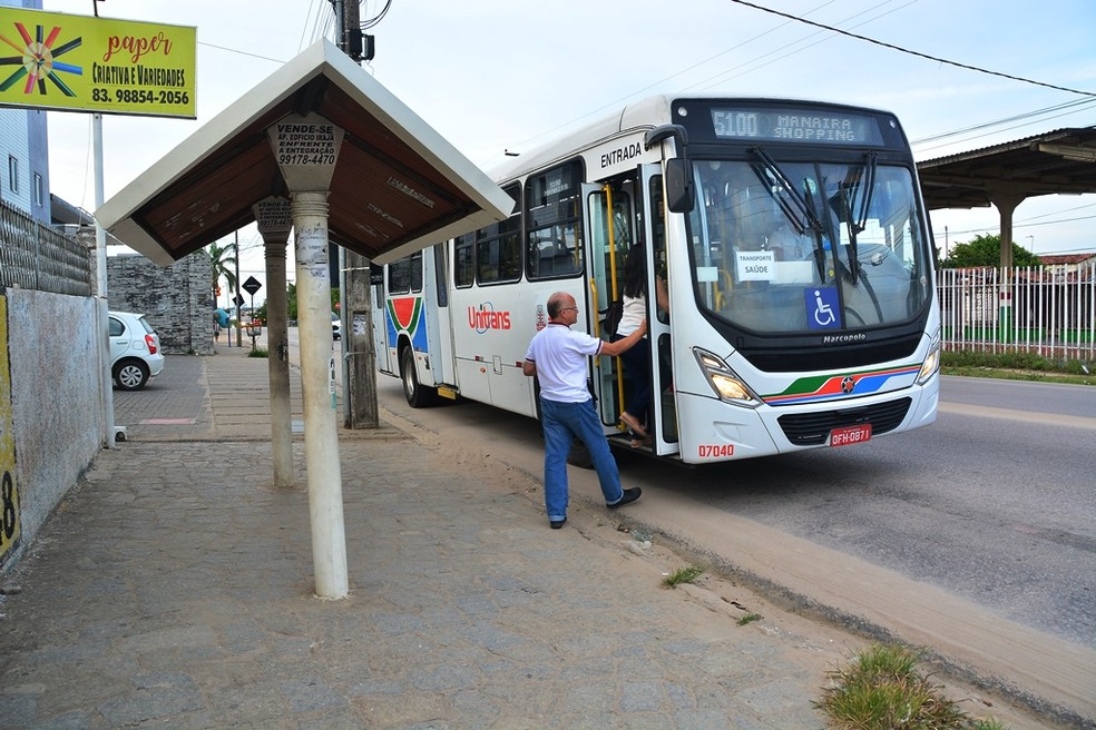 Ônibus em João Pessoa — Foto: PMJP/Divulgação