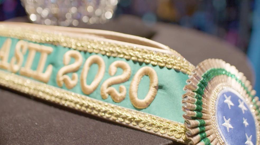 Miss Brasil 2020: cerimônia de coroação foi gravada sem plateia e será exibida na internet na quinta-feira, 20 de agosto — Foto: Divulgação