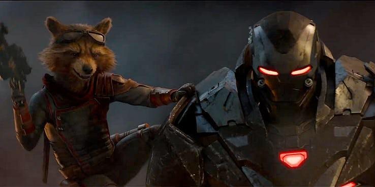 Cena do trailer de Vingadores: Ultimato (Foto: Reprodução / YouTube)