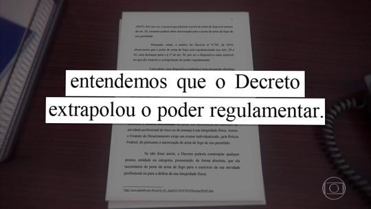 Jair Bolsonaro tem um prazo de cinco dias para explicar o decreto sobre armas