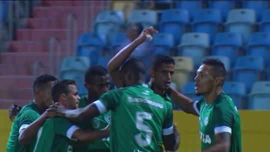 Os gols de Goias 2 x 1 CRB pela 13ª rodada do Campeonato Brasileiro Série B