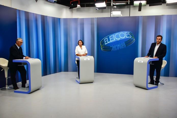 Resultado de imagem para debate da inter tv cabugi