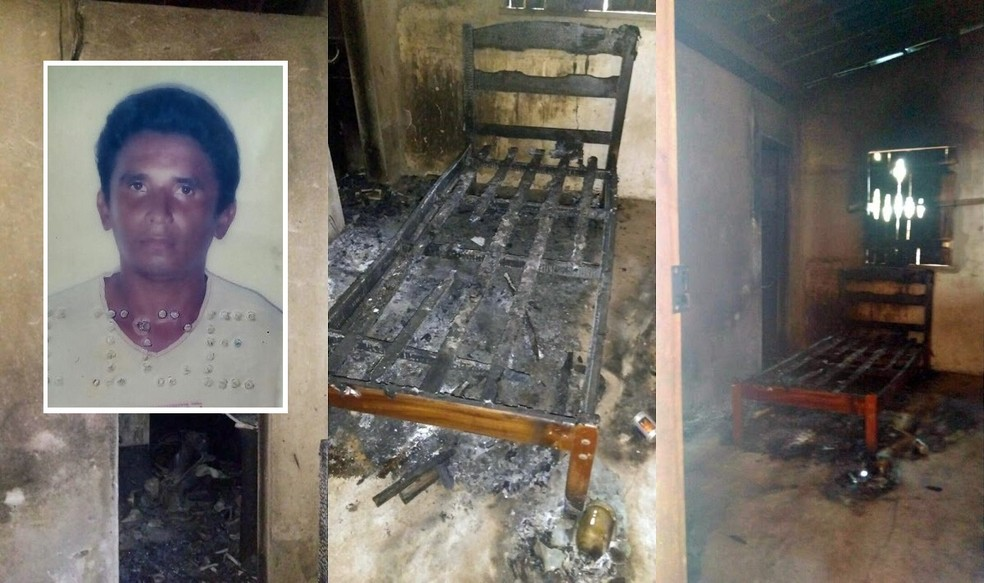 Líder indígena foi espancado e jogado para dentro da casa em chamas, diz polícia (Foto: Arquivo pessoal)