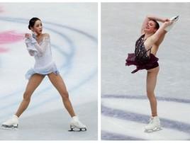 Americana é acusada de cortar rival coreana com lâmina de patins (Issei Kato/Reuters)