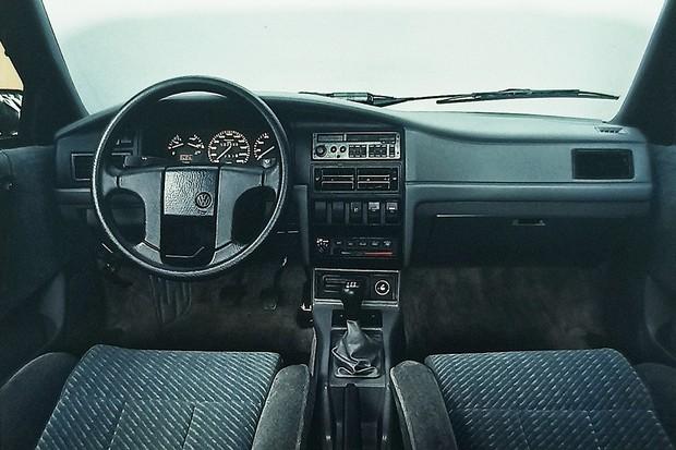 Painel Volkswagen Santana (Foto: Autoesporte)