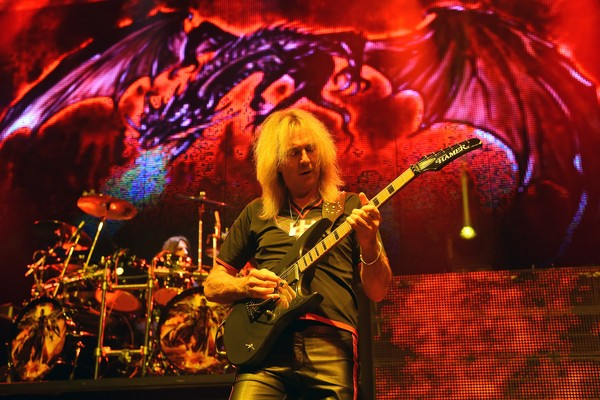 O guitarrista Glenn Tipton  (Foto: Getty Images)