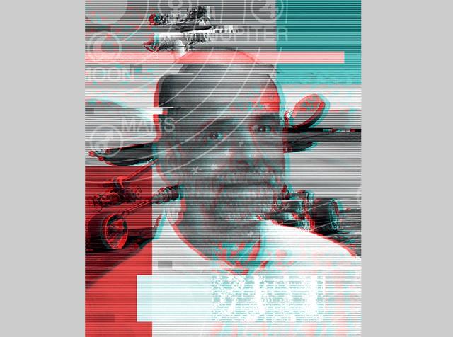 O brasileiro Ramon de Paula, chefe das missões da Nasa para Marte, acredita que estudar o desolado planeta vai trazer informações preciosas sobre  como preservar a vida na Terra (Foto: Ilustração de Sonic sobre foto de Divulgação)