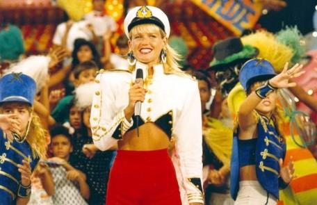 """O """"Xou da Xuxa"""" estreou em 1986 na Globo Arquivo"""