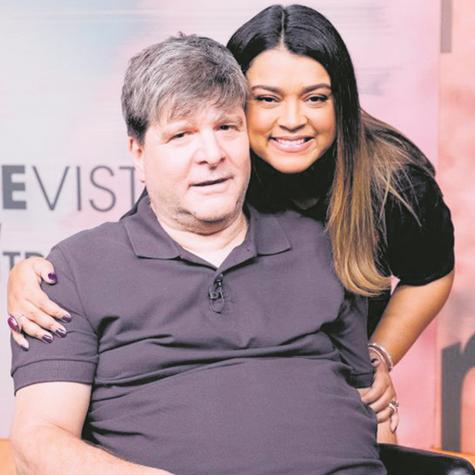 Marcelo Rubens Paiva e Preta Gil (Foto: Divulgação)