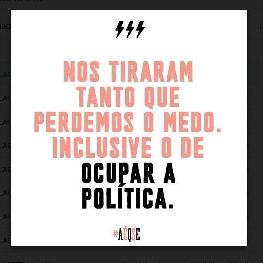 Fala da Deputada Estadual @monicasfrancisco (PSOL/RJ) com mais de 40 mil votos (Foto: Reprodução/Instagram)