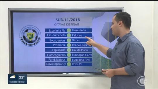 River-PI vence, avança, e Piauiense sub-11 chega às oitavas de final. Veja confrontos