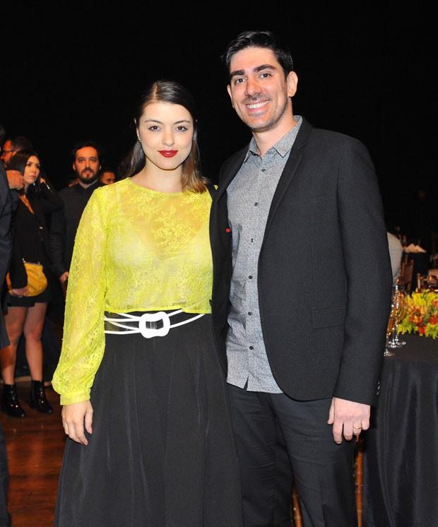 Marcelo Adnet e a namorada, Patrícia Cardoso (Foto: Samuel Chaves/Brazil News)