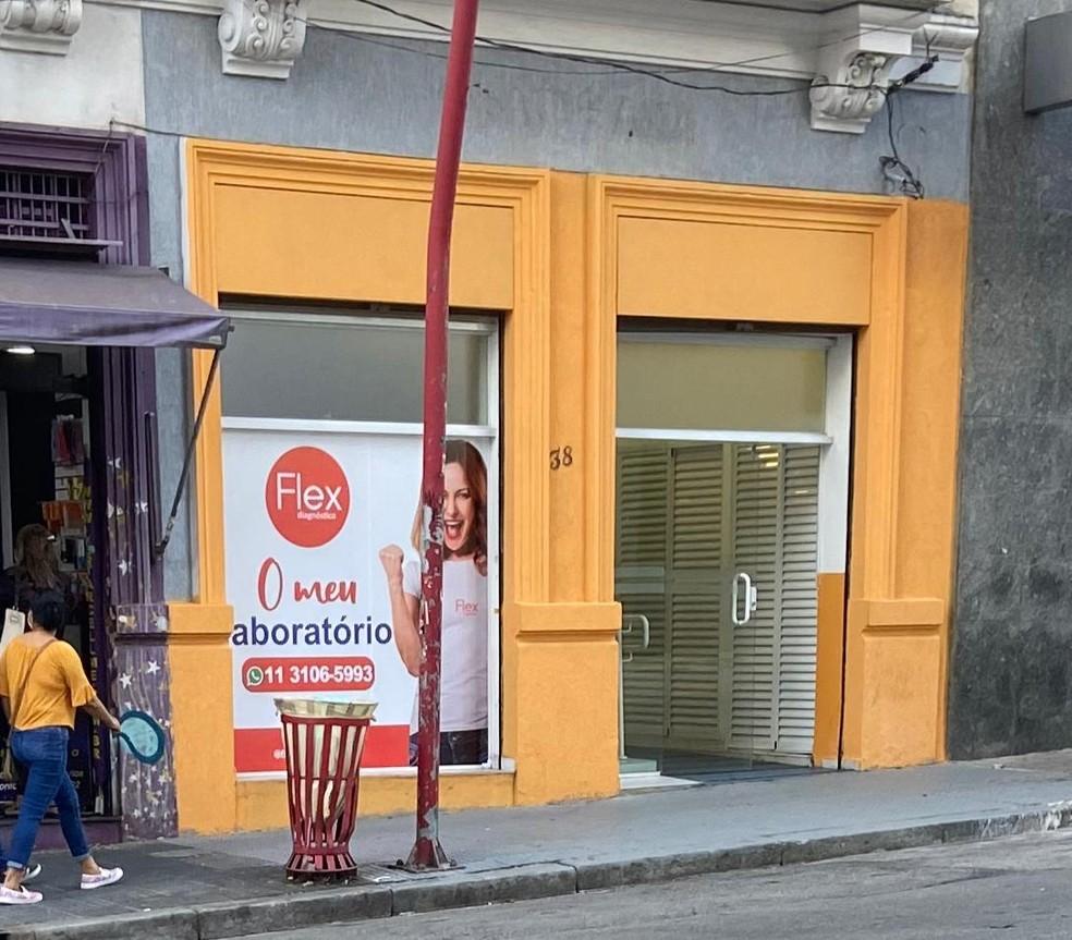 Nova fachada da clínica na Liberdade, região central de São Paulo, onde Lorena Muniz morreu durante cirurgia para colocar silicone — Foto: Arquivo pessoal