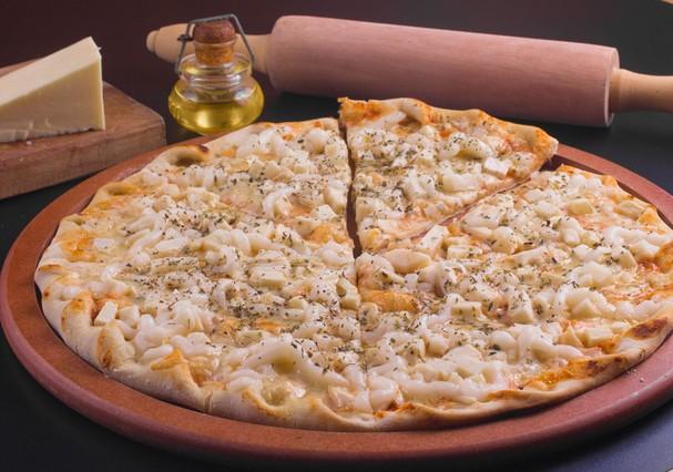 Pizza de frango com catupiry (Foto: Thinkstock)
