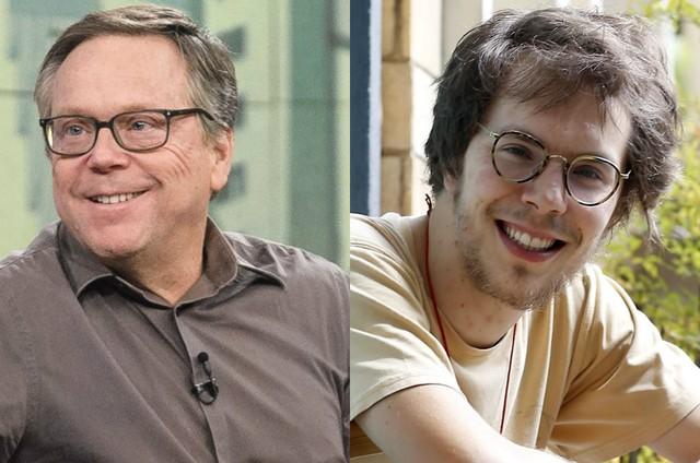 Fernando e Quico Meirelles (Foto: Ramón Vasconcelos/TV Globo e Edilson Dantas)