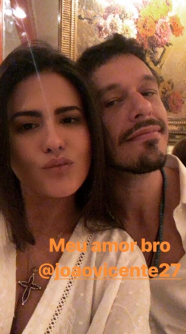 Antonia Morais e João Vicente de Castro (Foto: Reprodução)