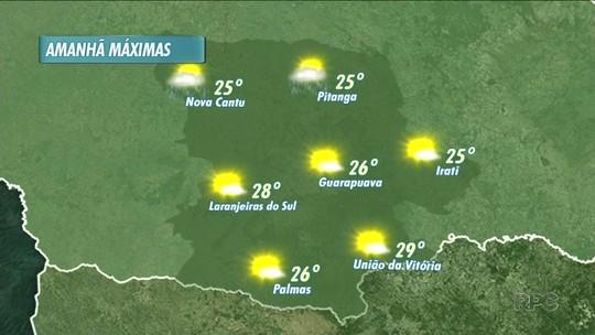 As temperaturas ficam mais amenas esta semana