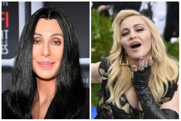 Cher e Madonna (Foto: Getty Images)