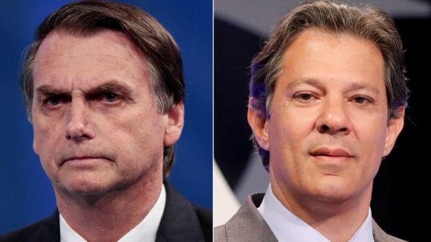 Segundo Datafolha, eleitores de Bolsonaro usam mais redes sociais (81%), que eleitores de Haddad (59%) (Foto: Reuters via BBC News Brasil)