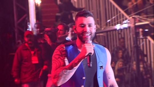 Gusttavo Lima canta 'Cem Mil' na Festa do Peão de Barretos 2019