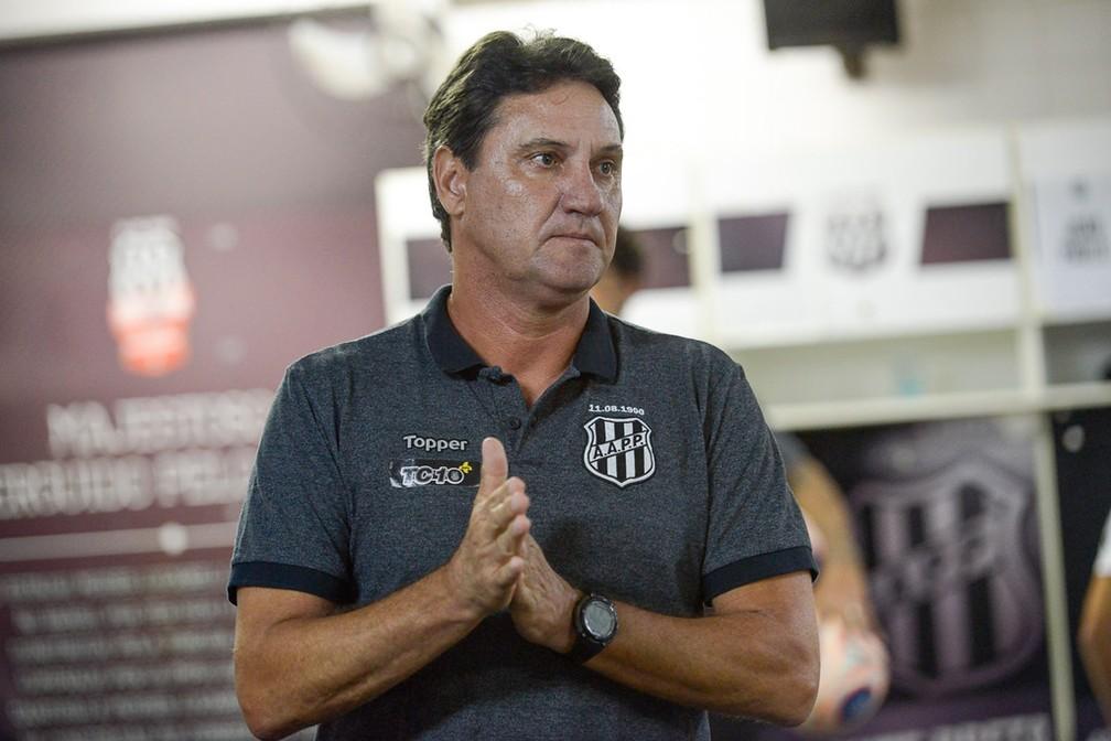 João Brigatti assumiu a Ponte após a sexta rodada do Paulistão — Foto: João Brigatti/ PontePress