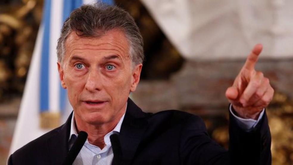 Macri afirmou que reforma protegerá aposentados da inflação; críticos discordam. (Foto: Reuters)