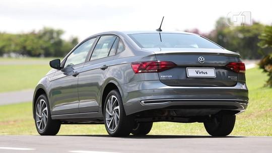 Volkswagen Virtus parte de R$ 59.990: veja todos os preços e versões
