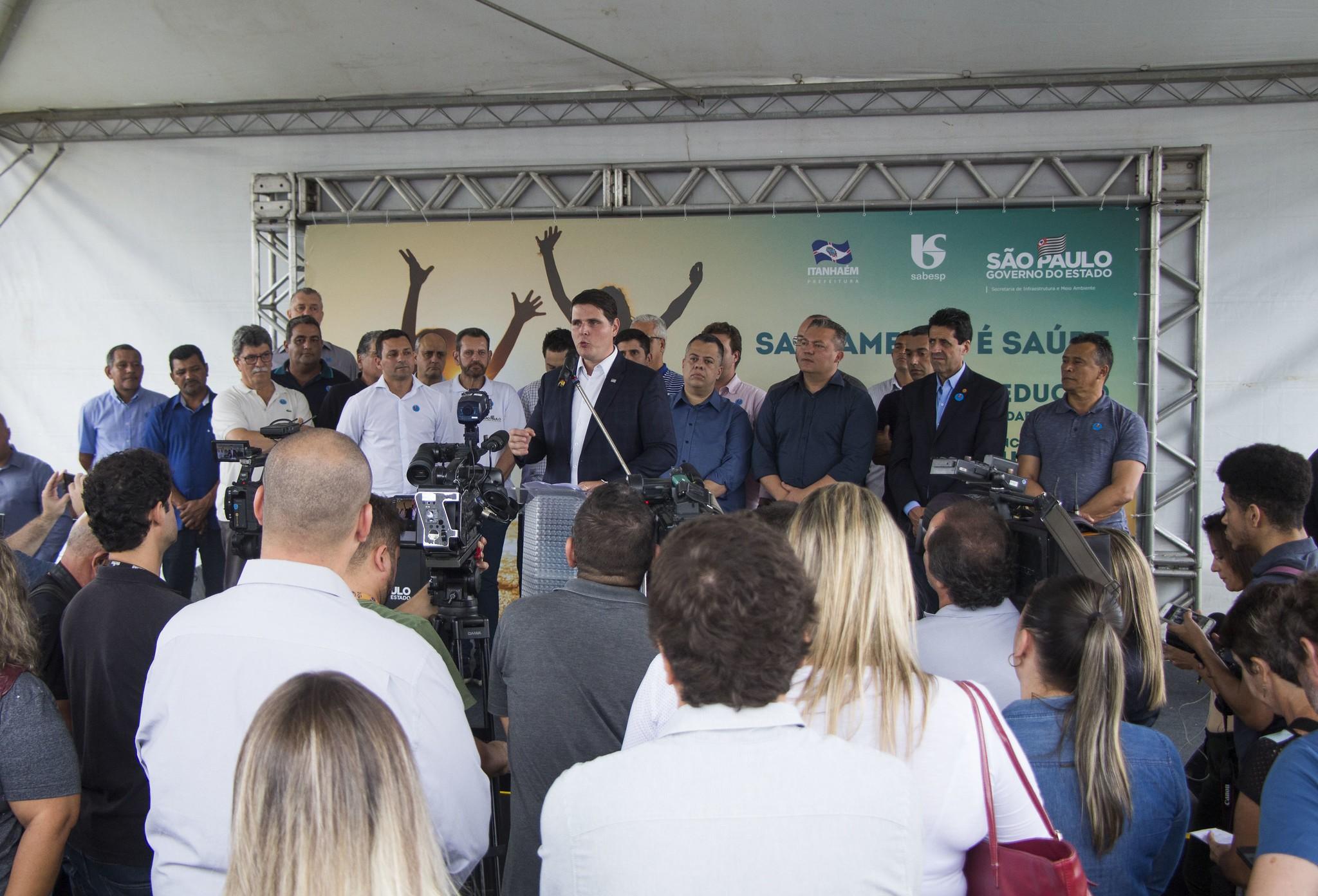 Estado libera R$ 170 milhões para sistemas de água e esgoto em Peruíbe, Itanhaém e Mongaguá - Notícias - Plantão Diário