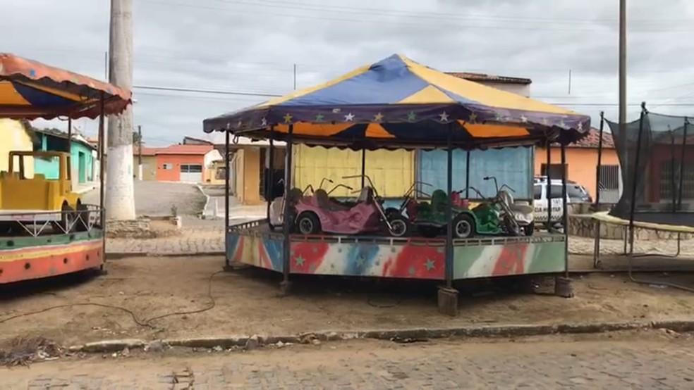 Furto de energia era no Parque Santa Terezinha, na cidade de Montanhas, Agreste potiguar (Foto: Divulgação/Cosern)