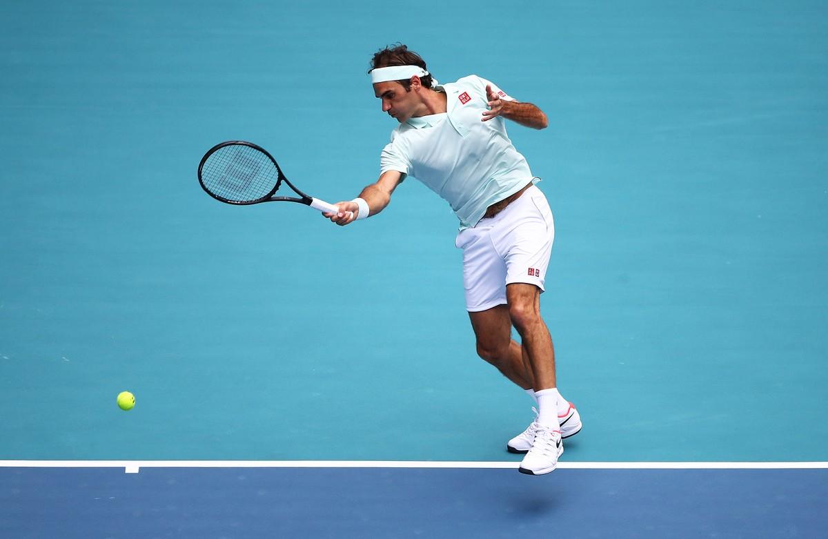 43168ad98 Federer alcança 101º título na carreira ao superar John Isner no Masters  1000 de Miami | masters 1000 | Globoesporte