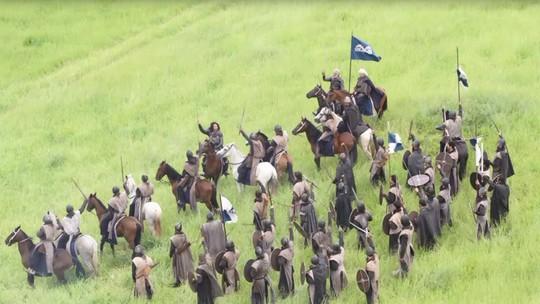 Afonso comanda as tropas de Artena contra Montemor