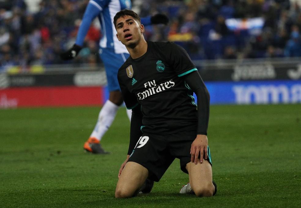 Hakimi em ação pelo Real Madrid (Foto: Reuters)