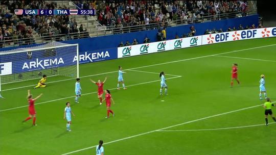 Copa Em Pauta: seleção feminina dos EUA faz 13 a 0 contra Tailândia