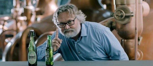 O mestre cervejeiro glonal da Heinken, Willem van Waesberghe