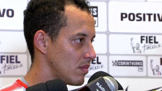 """Rodriguinho aprova volta de Ralf ao Corinthians: """"É bravo, tem que sair mordendo todo mundo"""""""