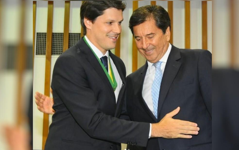 Daniel e Maguito Vilela, em Goiás — Foto: Reprodução/Instagram