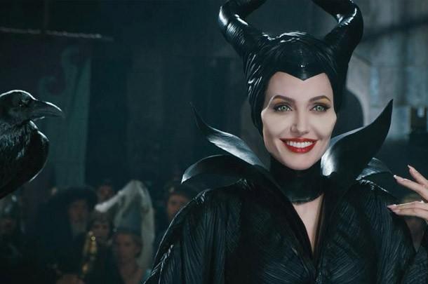 """Angelina Jolie como a protagonista do filme """"Malévola"""" (2014)"""