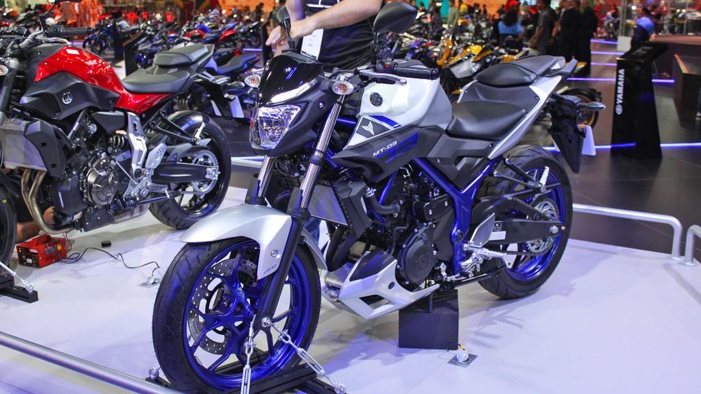 Yamaha MT-03 — Foto: Rafael Miotto / G1