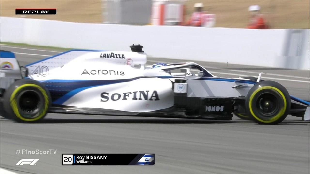 Nissany roda no treino livre do GP da Espanha